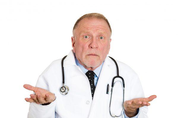 doctor amazed