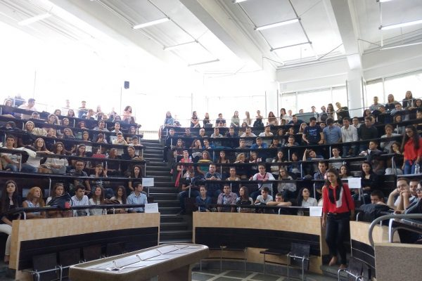 lecture, students