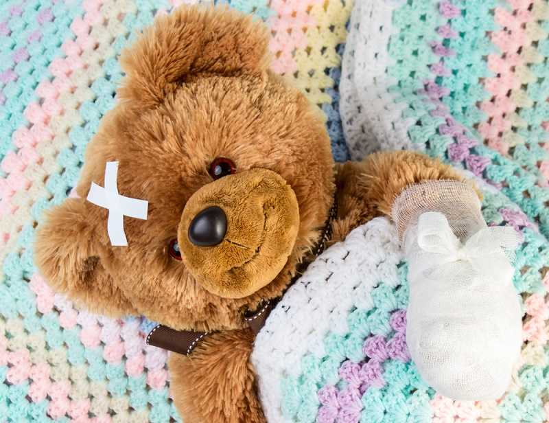 sick-teddy